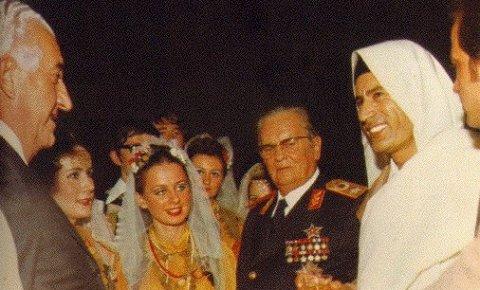133789 titoingadafi2 f В трудный час Каддафи поддерживал Сербию